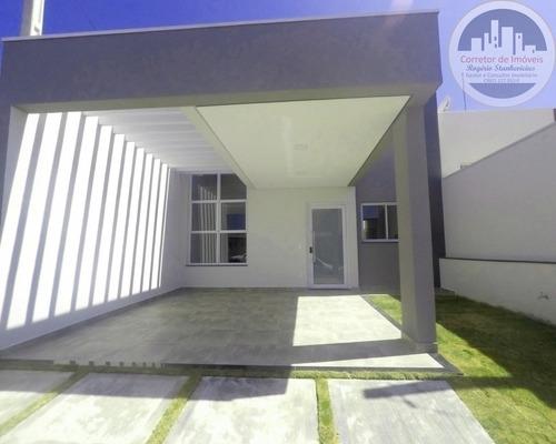 Casa Com 3 Dormitorios, Sendo 1 Suite No Condominio Jardins Do Imperio - Vila Itu - Indaiatuba - Ca00020 - 67625022