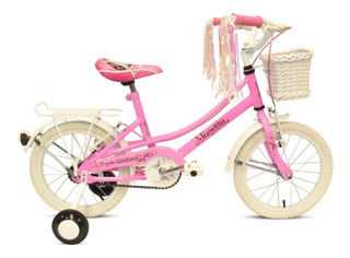 Bicicleta Musetta Rod.16 Vintage Nena C/canasto Env. Gratis