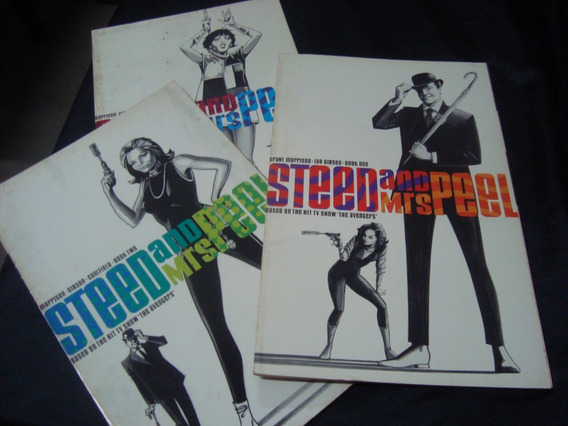 Cx Delta 38 60 Steed And Mrs Peel 3 Volumes Ingles