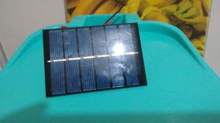 Placa Solar 12v 1,5w