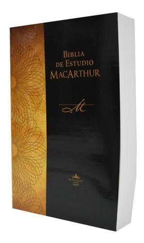 Imagen 1 de 4 de Biblia De Estudio Macarthur Tapa Rústica