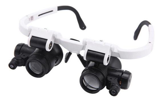 Óculos Tipo 23 Vezes Reparação Relógio Vestindo Lente Dupla