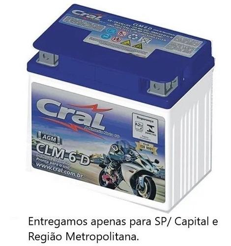 Bateria De Moto 6ah  - Ybr125 - Xre 300- Cg 150