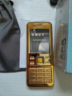 Nokia 6300 Color Oro Impecable
