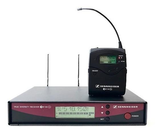 Microfone Cabeça Sennheiser Ew100 G2 - Original