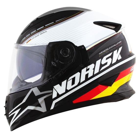 Capacete Norisk Ff302 Grandprix Alemanha Germany