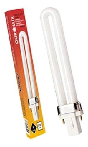 Ourolux - Lâmpada Pl 9w 6400k - Refil P/ Luminária Pelicano