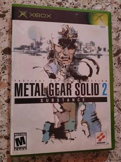 Metal Gear Solid 2 Substance Para Xbox Original