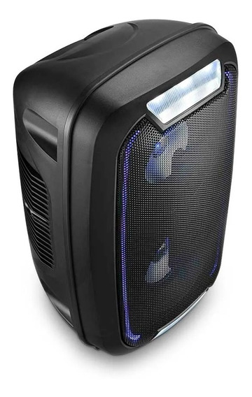 Mini Torre Neon Caixa Som Bluetooth Party Sp336 Multilaser