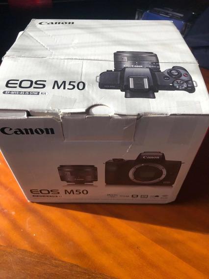 Cânon M50 Na Garantia - Troco Por Drone