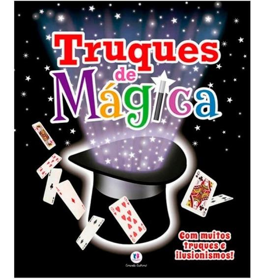 Truques De Mágica Ilusionismo Livro Infanto Juvenil