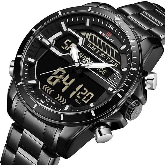 Relógio Masculino Militar Naviforce Esportivo Original