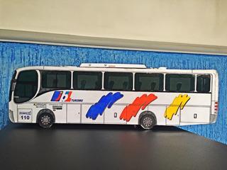 Miniatura De Ônibus Comil Campione 3.45 Jbl Vw 16-210