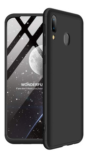 Funda 3 En 1 Luxury Samsung A20 A30 A50 Rigida + Glass + Env