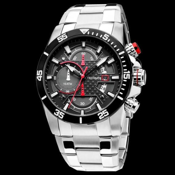 Relógio Technos Masculino Performance Sports Carbon Os10er/1