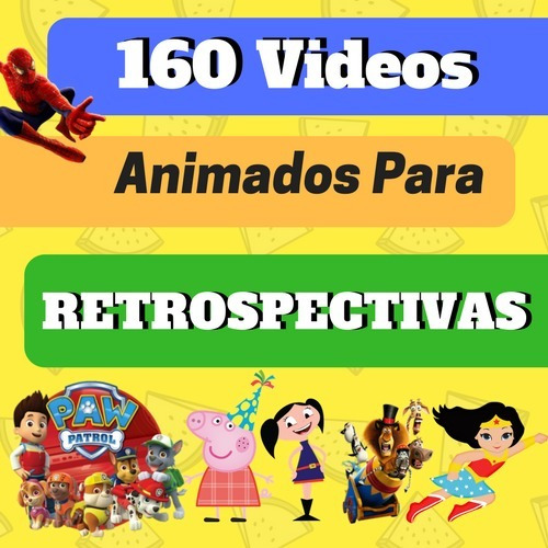 160 Videos Animados Para Proshow Sony Vegas E Movie Maker