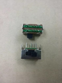 Interruptor 3 Posições Eixo Lateral C/ 8 Pinos Midiplus Amw