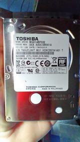 Hd 320 Gb - Hd Notebook Toshiba Slim + 3 Meses Garantia