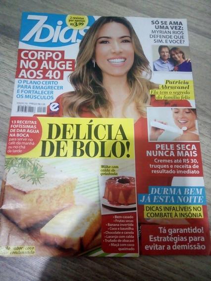 Revista 7 Dias 722 Patricia Abravanel Myrian Rios