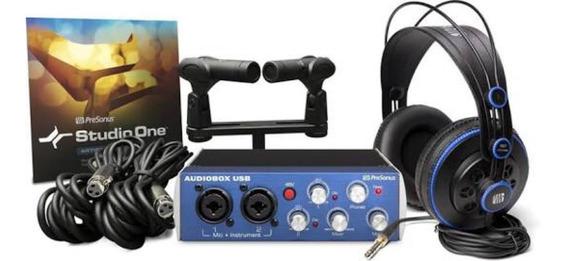 Kit De Gravação. Presonus Audiobix