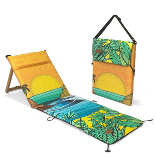Reposera Plegable Chilly Diseño Hawaiian
