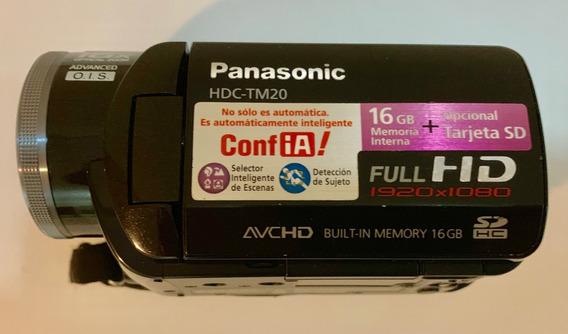Filmadora Panasonic Hdc-tm20 16gb Zoom Ótico 16x