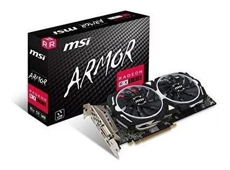 Tarjeta De Vídeo Msi Armor Radeon Rx580 8gb