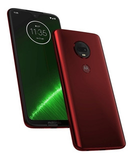 Celular Moto G7 Plus 64gb 4gb Ram Tela De 6,24 16mp Rubi