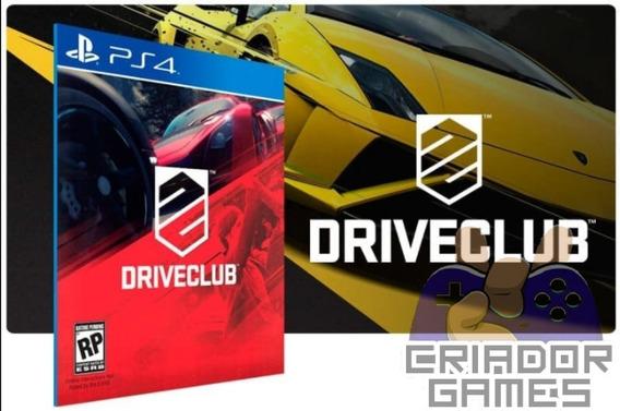 Driveclube Ps4 Digital Psn Vitalício Português