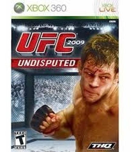 Ufc Undisputed 2009 Xbox 360 - Original