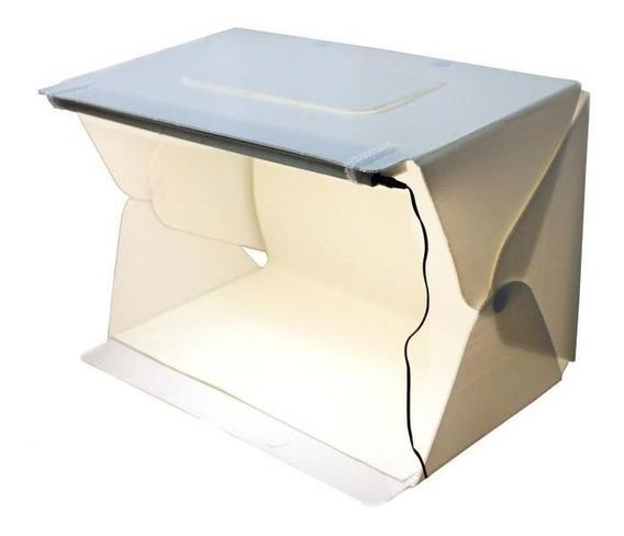 Mini Estudio 60cm Grande Plus 60 Luz Led - Evobox