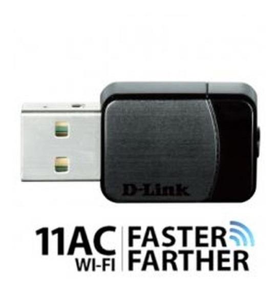 Adaptador Nano Usb D-link Para Rede Wireless Ac Dual Band