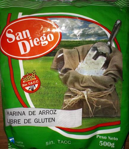 Harina De Arroz. Pack Por 20. Celiacos