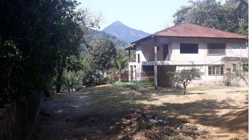 Imagem 1 de 26 de Sobrado Com 4 Dormitórios À Venda, 500 M² Por R$ 1.200.000 - Figueira (pé Da Serra) - Ubatuba/sp - So2196