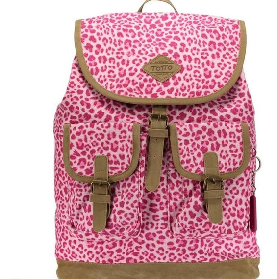 Bolso Dama Morral Totto Canvany Caprini