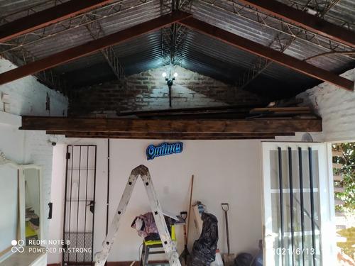 Imagen 1 de 9 de Entrepiso Madera Como Nuevo Pintado, Super Resistente
