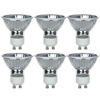 Sunlite Series 50mr16/cg/gu10/fl/120v/6pk Halogen 50w 120v M