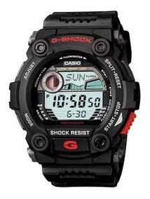 Relógio Casio G-shock G-7900-1dr Fases Lua Preto