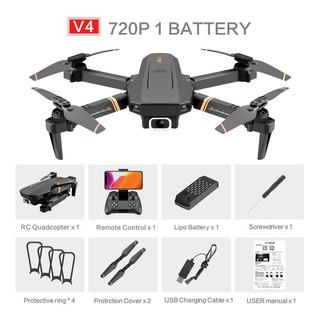 V4 Rc Drone 4k Hd Cámara Gran Angular 1080p Wifi Fpv.