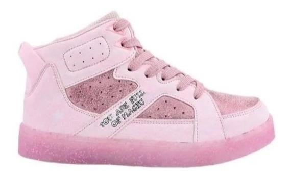 Zapatillas Footy Glitter Cool Pink Ultraliviana Fty Calzados