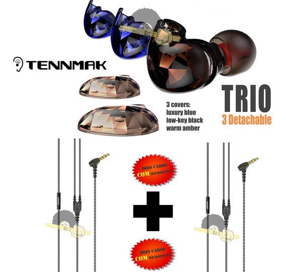 Fone De Ouvido Tennmak - 4 Drives(2l & 2r)- Para Vocalistas