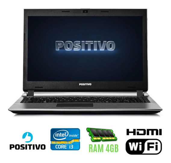 Notebook Positivo Xri7150 Core I3 Ram 4gb