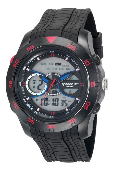 Relógio Speedo Masculino Esportivo Anadigi 81126g0evnp3