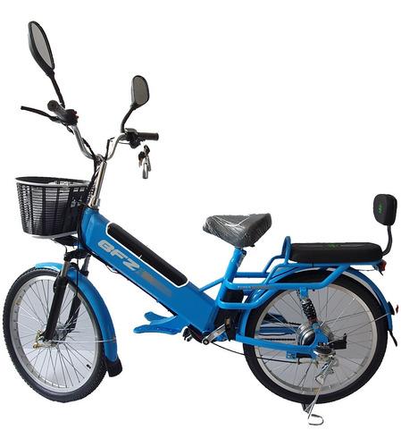 Bicicleta 100% Eléctrica Con Batería Extraíble Dos Pasajeros