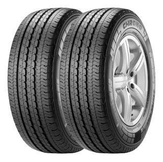 Combo X2 Neumaticos Pirelli 225/70r15c Chrono 112s Cuotas