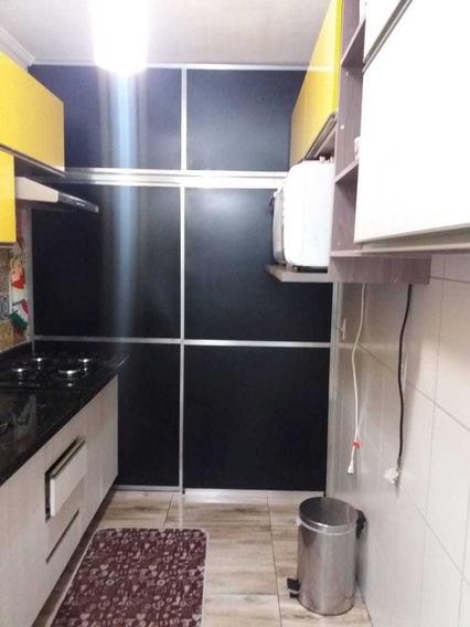 Apto 46mts 2 Dorm Sala E Cozinha Tdo Programado E Reformado