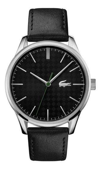 Relógio Lacoste Couro Preto - 2011047