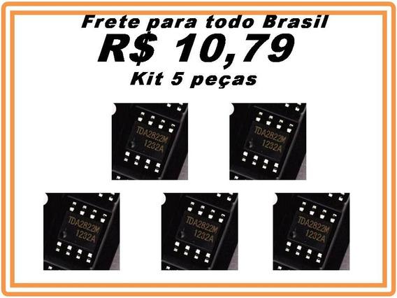 Ci Tda2822 Tda2822m Tda2822 Smd 100% Original Kit 5 Pecas