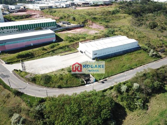 Galpão Para Alugar, 2169 M² Por R$ 35.000,00/mês - Eldorado - São José Dos Campos/sp - Ga0117