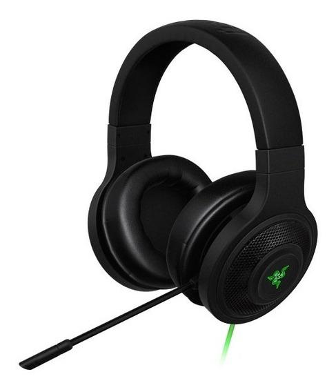 Headset Gamer Razer Kraken Essential Microfone 7.1 Ps4 Xbox